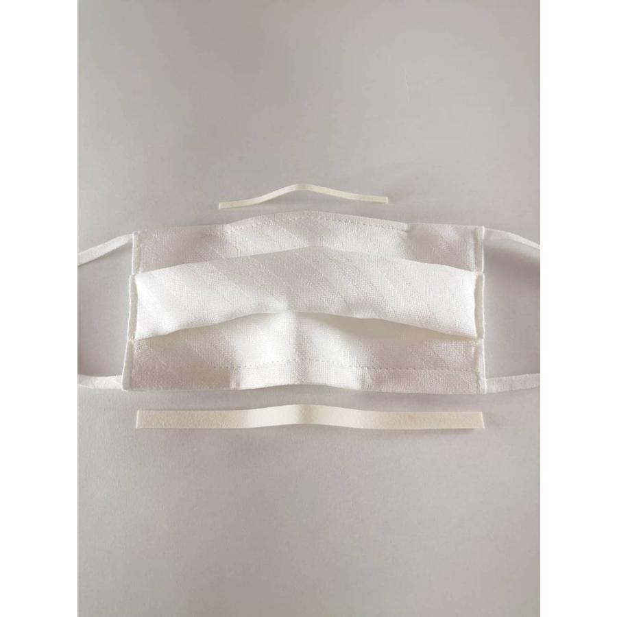 マスク 日本製 洗える シルク シルクマスク 抗菌 UV ワイヤーマスク 小杉織物 藤井聡太|hinatajapan|11