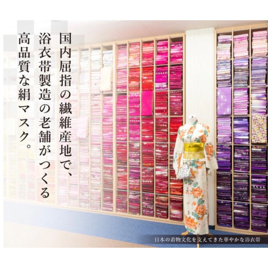 マスク 日本製 洗える シルク シルクマスク 抗菌 UV ワイヤーマスク 小杉織物 藤井聡太|hinatajapan|04