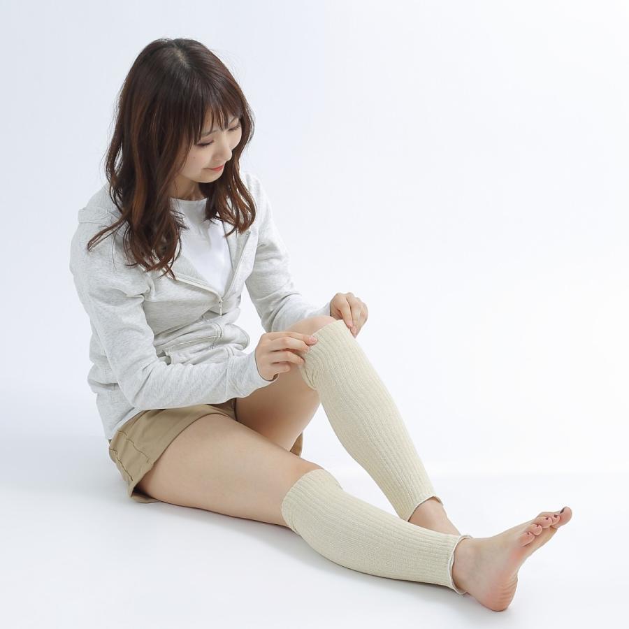 レッグウォーマー シルク 日本製 冷えとり オーガニックコットン ソックス 冷え取り 靴下|hinatajapan|13