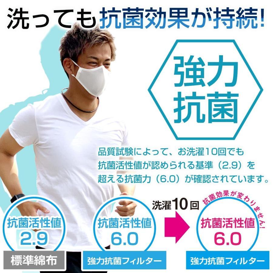 スポーツマスク 日本製 小杉織物 抗菌 夏用 マスク 洗える 大きめ メンズ ノーズワイヤー 洗えるマスク 涼しい 紐 調整 スポーツ 野球|hinatajapan|12