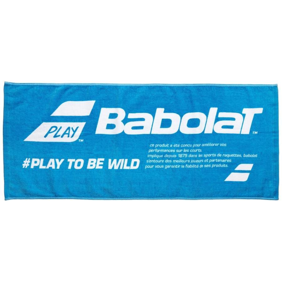 [バボラ] テニス バドミントン タオル 日本製 スポーツタオル BAB-T700 BU:ブルー 日本 F (FREE サイズ)
