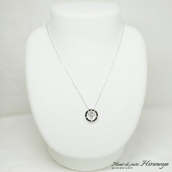 K18WG ダイヤモンド4WAYペンダントネックレス|hiranoya78|02