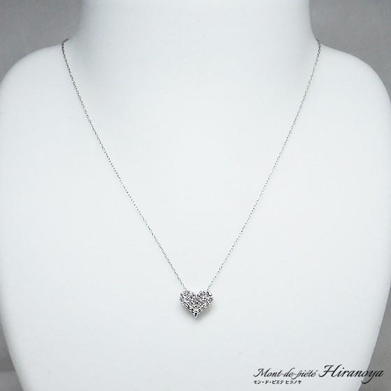 プラチナ ダイヤモンドペンダントネックレス hiranoya78 02