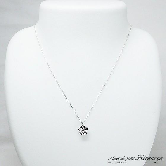 K18WG ダイヤモンドペンダントネックレス hiranoya78 02