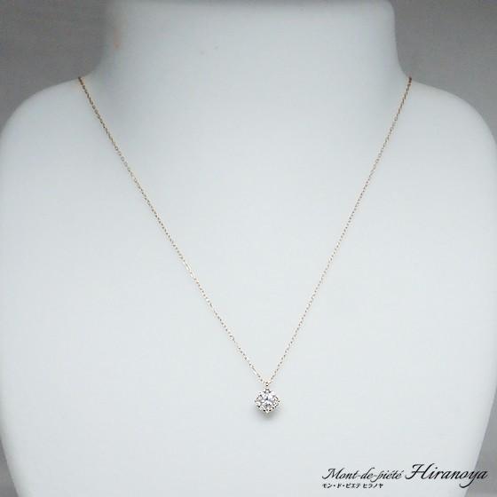K18PG ダイヤモンドペンダントネックレス hiranoya78 02