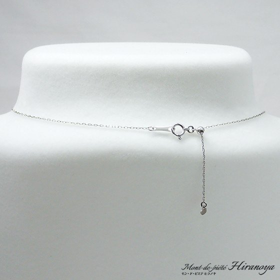 プラチナ ダイヤモンドペンダントネックレス hiranoya78 03