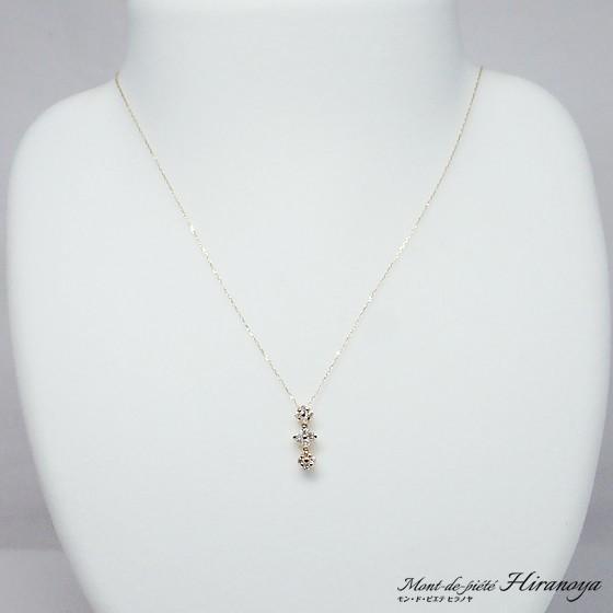 K18 ダイヤモンド2WAYペンダントネックレス hiranoya78 03