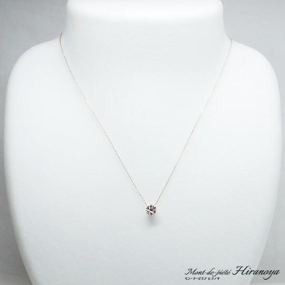 K18PG ダイヤモンドペンダントネックレス|hiranoya78|02