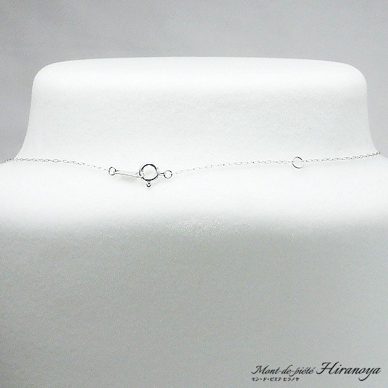 プラチナ ダイヤモンドペンダントネックレス|hiranoya78|03