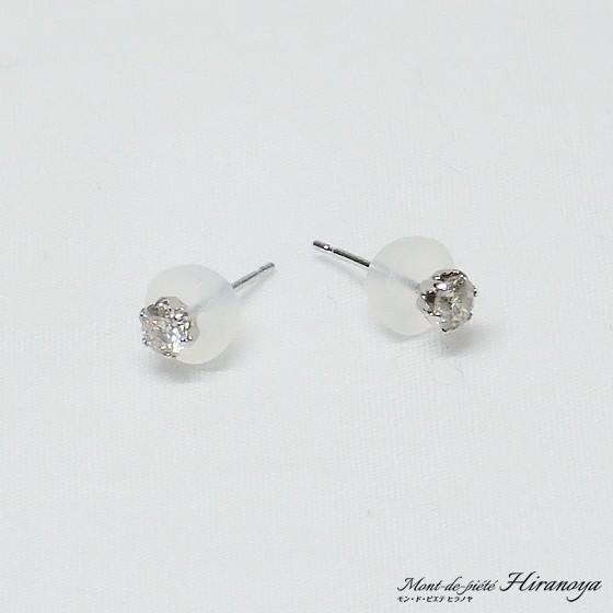 プラチナ ダイヤモンドピアス|hiranoya78|04