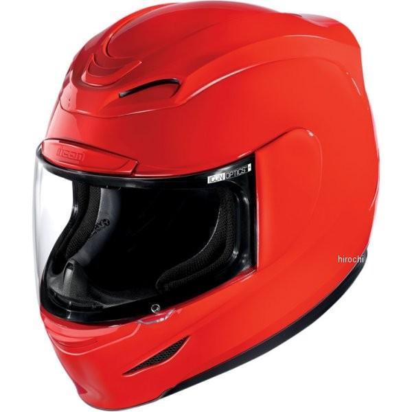 0101-5950 アイコン ICON フルフェイスヘルメット AIRMADA 赤 3Xサイズ (65cm-66cm) HD店