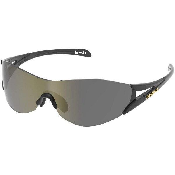 SOU2-0801 BK スワンズ SWANS SOU-II サングラス 黒/ゴールド 144mmx46mm HD店