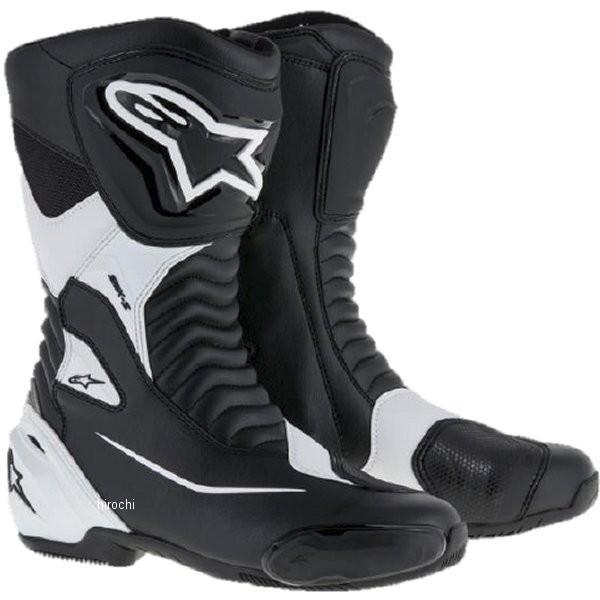 8021506618782 アルパインスターズ Alpinestars 春夏モデル ロードレーシングブーツ SMX-S 黒/白 44サイズ (28.5cm) JP店