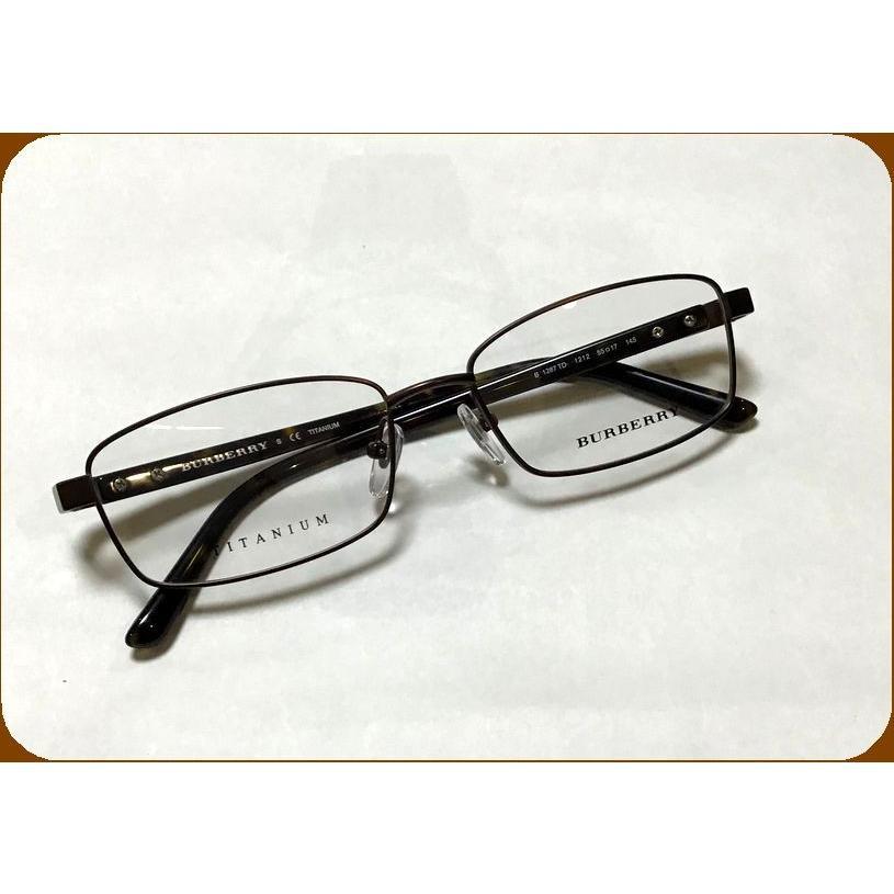 ◆ BURBERRY (バーバリー)眼鏡 ◆人気のお洒落めがね(0B1287TD/1212/55mm )・・度付き or 伊達メガネ or フレーム購入