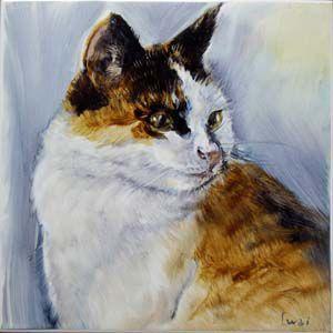 家族の記憶と記録に残るメモリアルタイル 猫