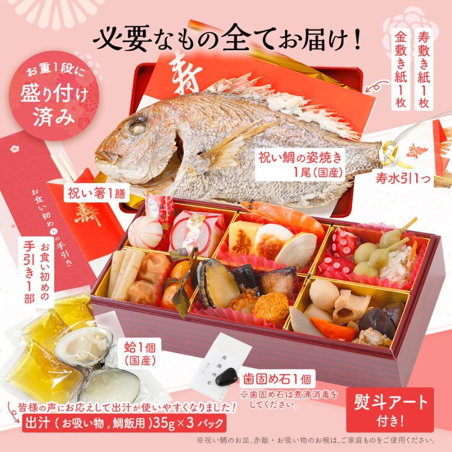 お食い初め セット 料理 膳 宅配【博多久松謹製】|hisamatsu|06