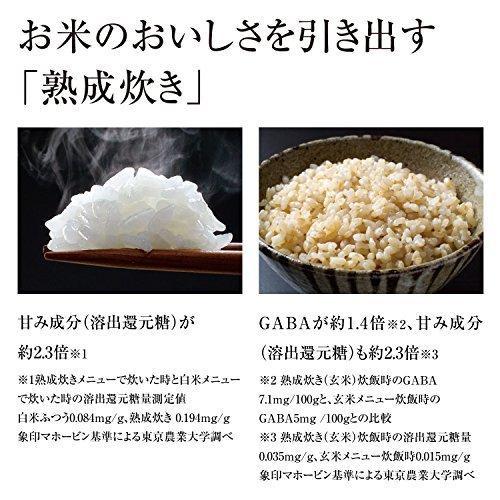 象印 炊飯器 IH式 5.5合ブラウン  NP-VD10-TA|hiseshop|03