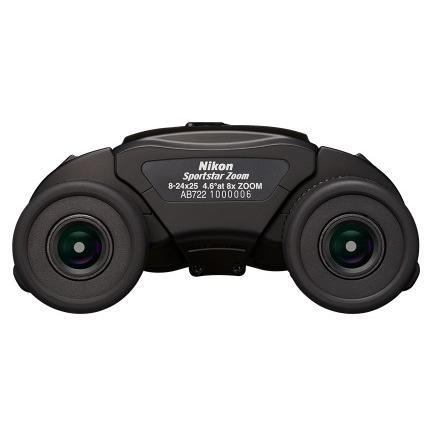 【送料無料】Nikon・ニコン双眼鏡 Sportstar 8-24X25 BLACK ニコン スポーツスター 8-24×25 ブラック hit-market 03