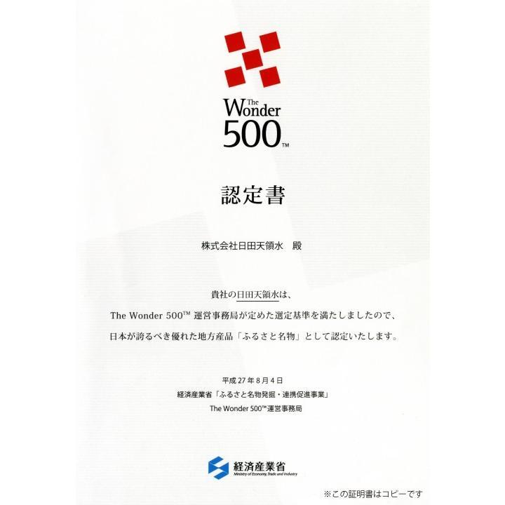 日田天領水 長期保存用 12L バッグインボックス 2個1組 12l × 2|hitatenryosui|03