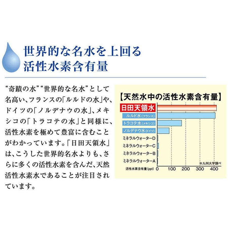 日田天領水 長期保存用 12L バッグインボックス 2個1組 12l × 2|hitatenryosui|08