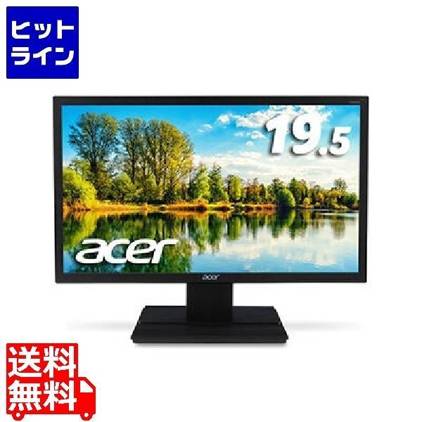 19.5型ワイド液晶ディスプレイ V206HQLAbmd (非光沢/1600x900/200cd/100000000:1/5ms/ブラック/ミニD-Sub 15ピン·DVI-D 24ピン(HDCP対応)) V206H…