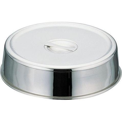 18-8 スタッキング丸皿カバー 18インチ用 業務用 NST07018