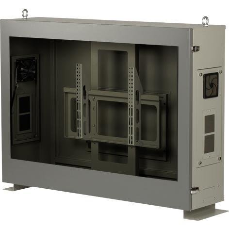 まもる君 Lookup+ 39インチ収納用 防塵ラック/ファンタイプ LU39F【返品不可】