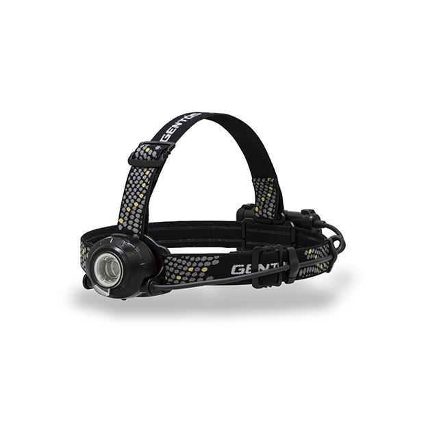 ジェントス 充電式 LEDヘッドライト HW-V533H USB充電式 乾電池兼用 防滴仕様 IP64準拠 GENTOS 耐塵 500ルーメン 限定品 本日限定