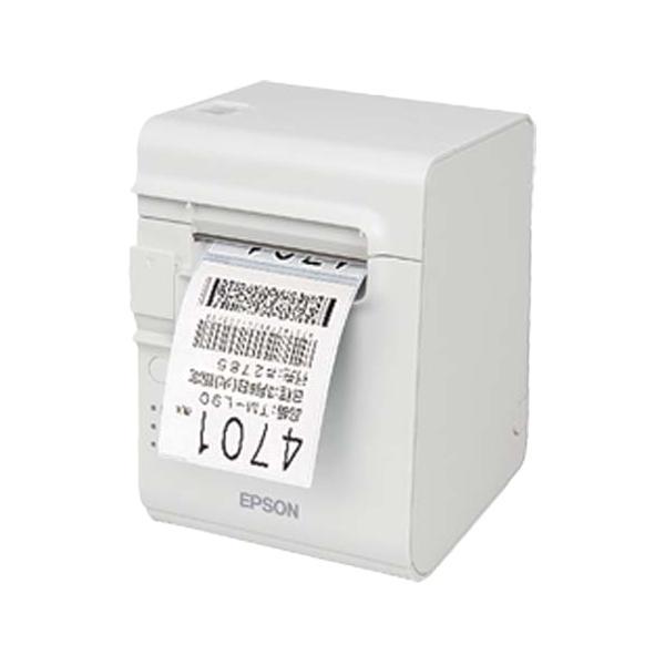 サーマルレシートプリンター/80mm/USB·有線·無線LAN/ラベル印刷対応/クールホワイト TML90UE431