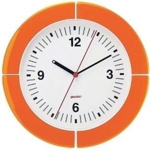 ウォールクロック 2895.0045 オレンジ RGTE404 ヒットライン - 通販 - PayPayモール