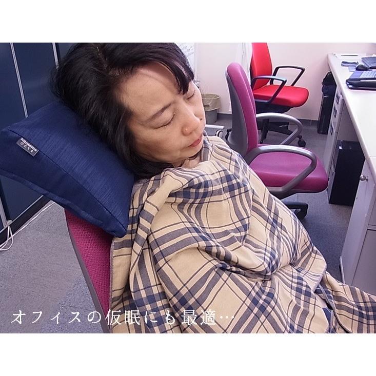 今治ガーゼショール ライト (2重ガーゼ) 寒さ対策でオフィスを快適に hitotema 04