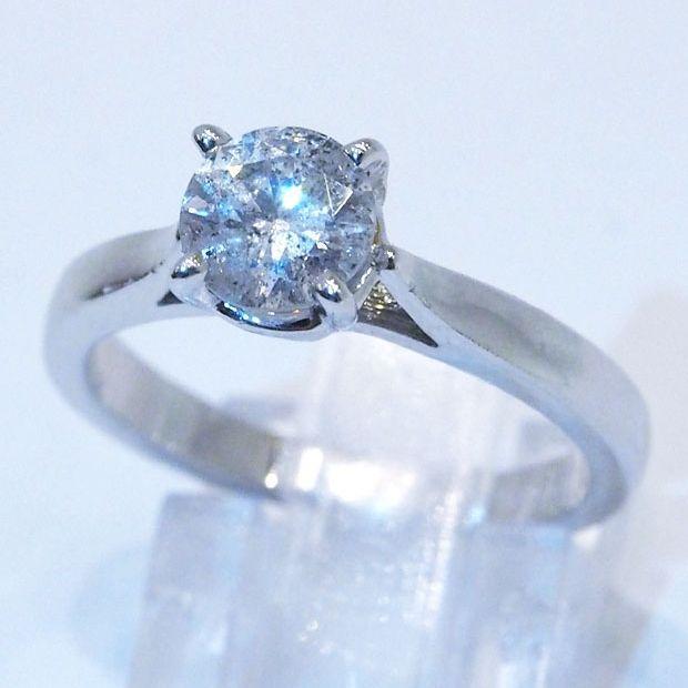1.01カラットダイヤモンド指輪 hivikigallery