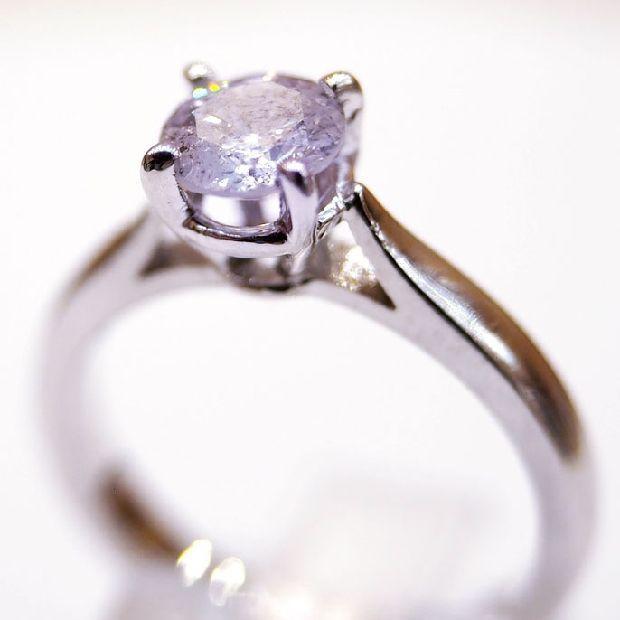 1.01カラットダイヤモンド指輪 hivikigallery 02