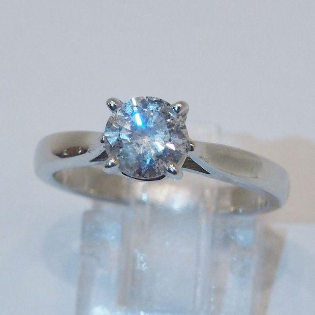 1.01カラットダイヤモンド指輪 hivikigallery 05