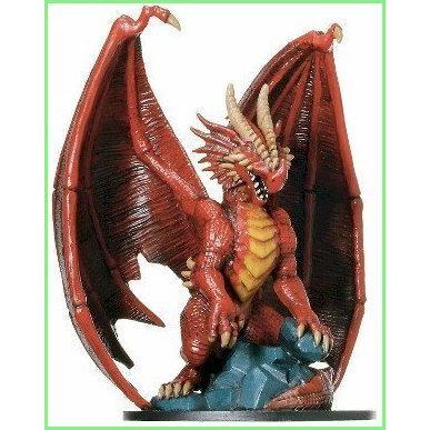 D & D Minis: Huge Red Dragon # 71 - Giants of Legend 並行輸入品