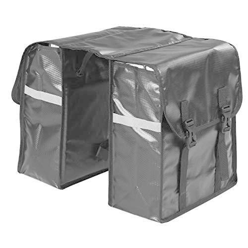 海外限定 Cycling Backpack 28L Bike Bag Water Bag Rear Seat Bicycle Bag Trunk Bags Saddle Rack Bag (Color : Black, Size : One Size)