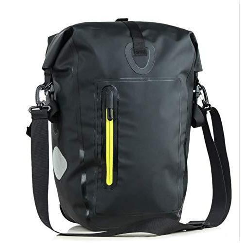 海外限定 LINGJIA Bike Bag 25l Waterproof Bike Bag Road Bike Bicycle Rear Rack Pannier Bag Cycling Rear Seat Bag Shoulder Bag Bike