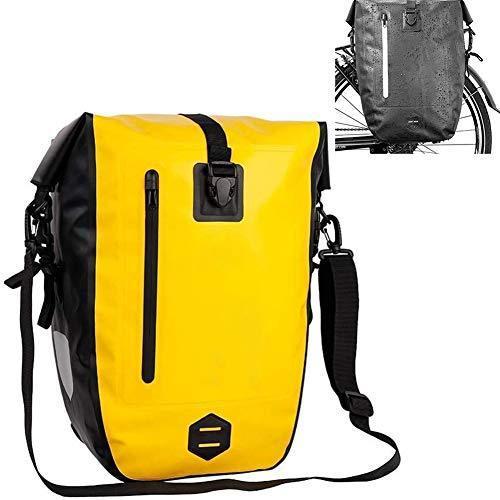 海外限定 PYapron Bike Bag Bike Bag for Bicycle Cargo Rack Saddle, Waterproof Bicycle Rear Seat Bag, Portable Shoulder Bag for Riding Tou