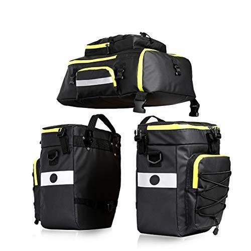 海外限定 DJCALA Bike Bag Bicycle Pannier Bag Set for Cargo Rack Saddle Bag Storage Bag Shoulder Bag Trunks Rack Bicycle Rear Seat Carrie
