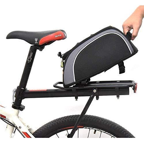 海外限定 ANXIANG Bicycle Carrier Package, Bicycle Rear seat Bag, Bicycle Rear seat Bag, Bicycle Skirt, Luggage Frame, 8L Waterproof Larg
