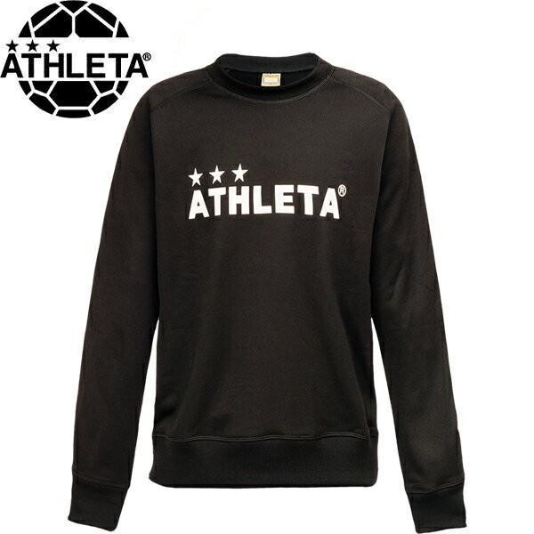 ATHLETA【アスレタ】 カラー杢スウェットシャツ 03314-BLK