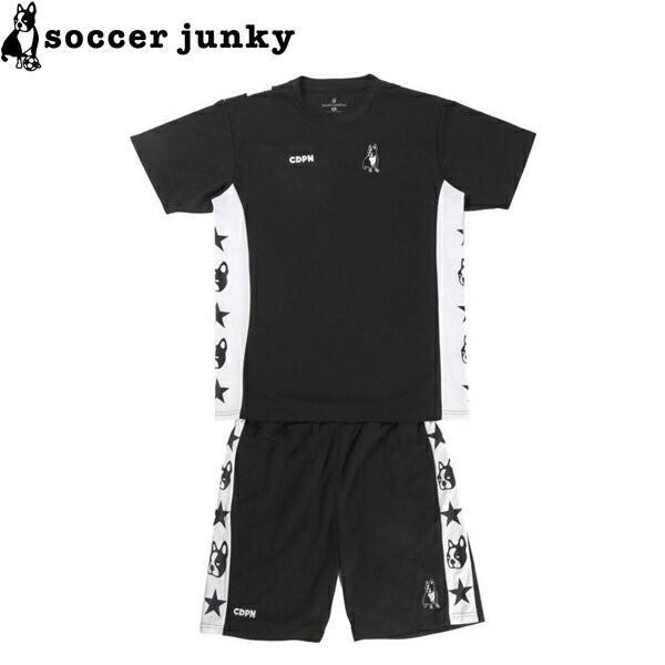 soccer junky サッカージャンキー ギアセット プラシャツ プラパン CP19008-BLK サッカー フットサル