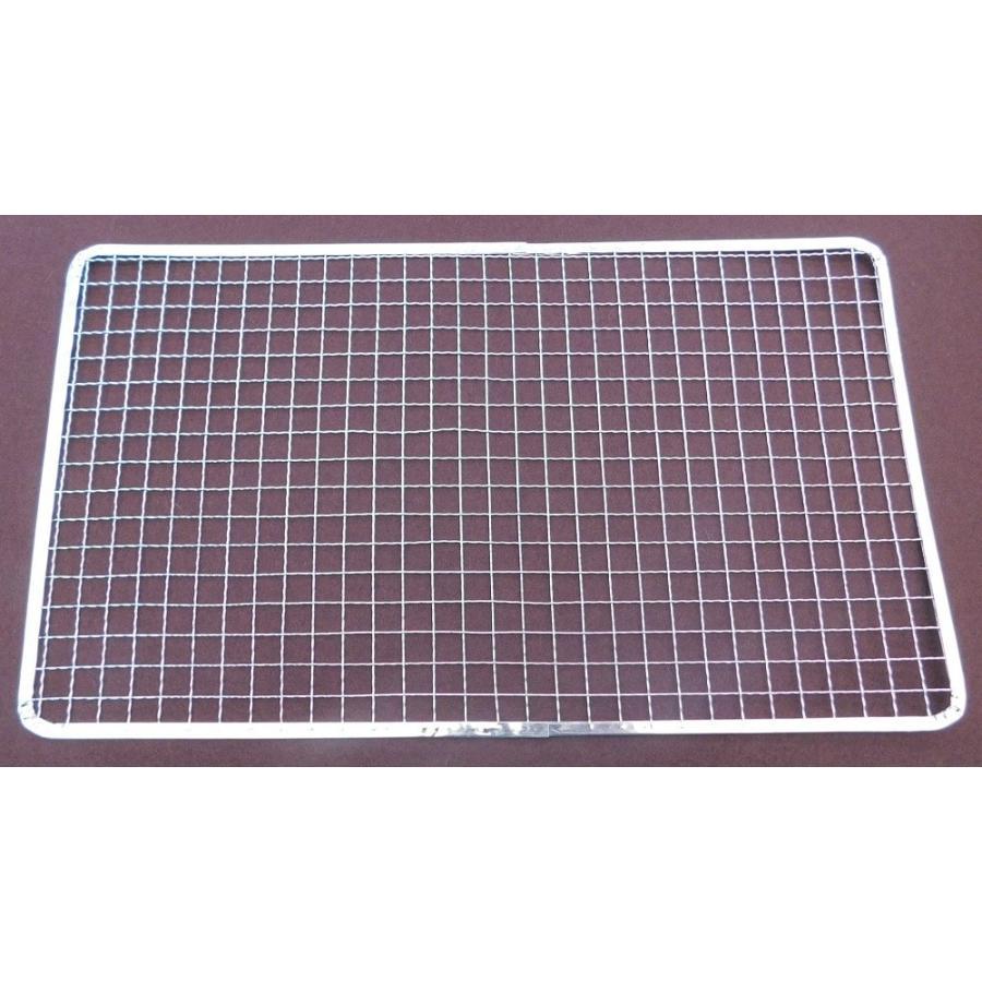 焼き網 業務用 使い捨て金網長方形235×405mm (200枚入り) :G1021