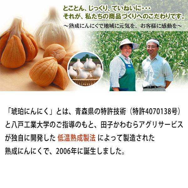 琥珀にんにくカプセル 120:ニンニク・田子かわむら・青森県産にんにく・低温熟成・プロテオグリカン・サプリ・サプリメント hizuya 03