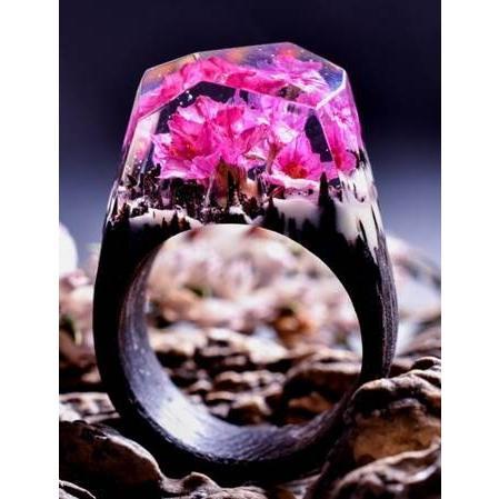 【即納!最大半額!】 Secret Wood Ring Ethereal Ring Blossom シークレットウッド リング エセリアルブロッサム, プレミアムブック:ccdebda9 --- airmodconsu.dominiotemporario.com
