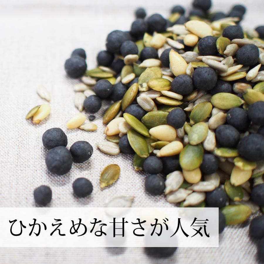 GOMAJE 亜鉛食ミックス 大袋 500g ゴマジェ 黒ごま 松の実 かぼちゃの種 送料無料|hl-labo|05