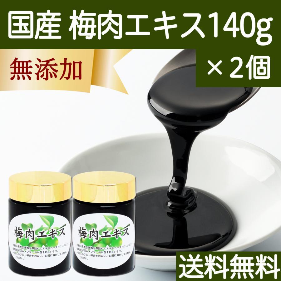 梅肉エキス 140g×2個 梅 エキス ペースト 無添加 100% 和歌山産 送料無料|hl-labo