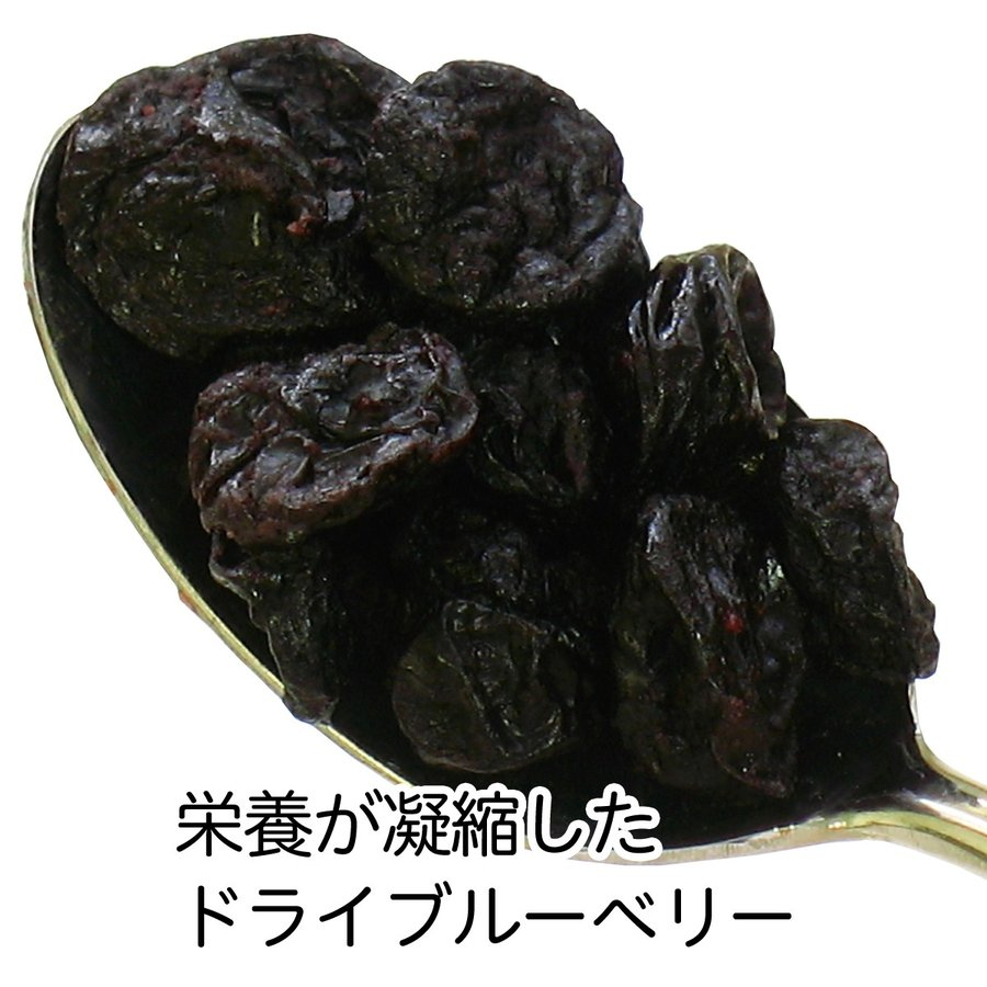 ブルーベリー500g×4個 ドライフルーツ チャック付き袋 送料無料|hl-labo|03