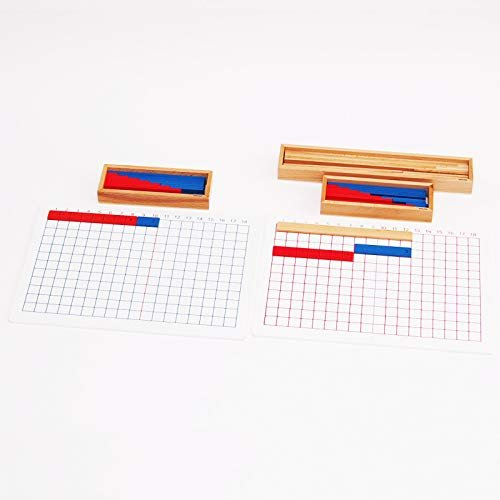 【MONTE Kids】モンテッソーリ教具 -- 足し算・引き算板セット -- Montessori 知育玩具教具 幼児早期教育 モンテキッ