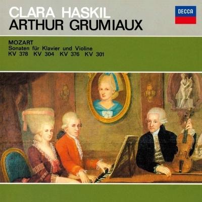 Mozart モーツァルト / ヴァイオリン・ソナタ集 アルテュール・グリュミオー、クララ・ハスキル(シングルレ|hmv